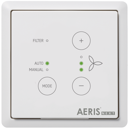 sterownik ComfoSwitch C do aeris next